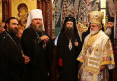 Делегация Русской Православной Церкви приняла участие в торжествах по случаю освящения нового кафедрального собора Киккской митрополии Кипрской Православной Церкви