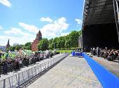 Святейший Патриарх Кирилл принял участие в торжественной церемонии открытия Дня славянской письменности и культуры в Москве