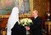 Поздравление Святейшего Патриарха Кирилла с днем тезоименитства председателем Правительства РФ В.В. Путиным