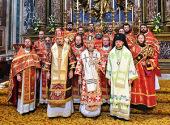 В Риме почтили память святых равноапостольных Кирилла и Мефодия