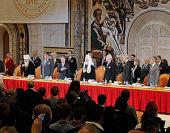Святейший Патриарх Кирилл призвал сочетать политический и экономический плюрализм с традиционными базисными ценностями