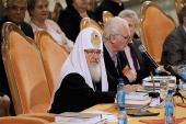 Предстоятель Русской Церкви возглавил церемонию открытия XV Всемирного русского народного собора