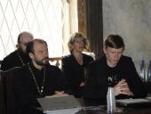 Представители СПбДА и Синодальной богословской комиссии приняли участие в круглом столе «Модернизация России в постсекулярную эпоху»