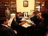 Святейший Патриарх Кирилл провел совещание по восстановлению Кронштадтского Никольского Морского собора