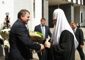 Святейший Патриарх Кирилл посетил Военную академию Генерального штаба Вооруженных сил РФ