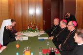 Председатель ОВЦС обсудил с группой высоких представителей Католической Церкви Польши вопросы подготовки совместного документа о примирении народов двух стран