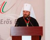Выступление митрополита Волоколамского Илариона на международной конференции «Христианско-иудео-мусульманский межконфессиональный диалог» (Будапешт, 2 июня 2011 г.)