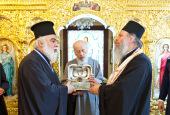 Завершилось пребывание на Украине честной главы святой великомученицы Анастасии Узорешительницы