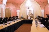 Святейший Патриарх Кирилл возглавил заседание Синодальной комиссии по делам монастырей