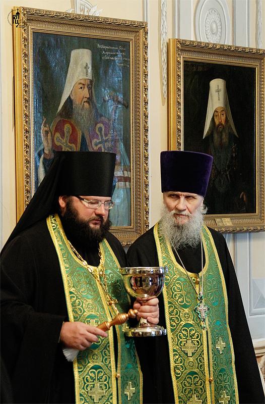 Наречение архимандрита Павла (Фокина) во епископа Ханты-Мансийского и Сургутского