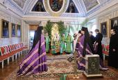Святейший Патриарх Кирилл возглавил чин наречения архимандрита Павла (Фокина) во епископа Ханты-Мансийского и Сургутского