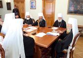 Расширен состав Священного Синода Украинской Православной Церкви