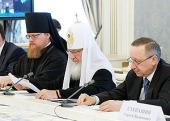 Святейший Патриарх Кирилл: При текущем финансировании федеральной программы «Культура России» многие памятники могут быть утрачены