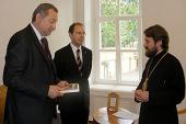 Состоялась встреча председателя ОВЦС с Государственным секретарем Министерства государственного управления и юстиции Венгерской Республики