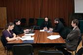 Состоялось первое заседание рабочей группы Издательского Совета по кодификации акафистов и выработке норм акафистного творчества