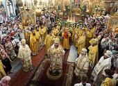 В Казахстане прошли торжества, посвященные 20-летию учреждения Чимкентской епархии