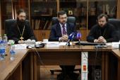 Пресс-конференция, посвященная деятельности Межсоборного присутствия, состоялась в Синодальном информационном отделе