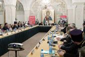 Святейший Патриарх Кирилл открыл заседание Европейского совета религиозных лидеров