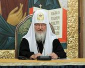 Святейший Патриарх Кирилл: Без поддержки снизу межрелигиозный диалог теряет смысл