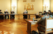 Святейший Патриарх Кирилл: Церковь будет содействовать усыновлению детей-сирот