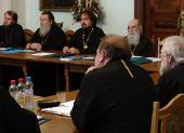 Состоялось очередное заседание комиссии Межсоборного присутствия по вопросам богослужения и церковного искусства