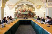 Cостоялось очередное заседание комиссии Межсоборного присутствия по вопросам информационной деятельности Церкви и отношений со СМИ