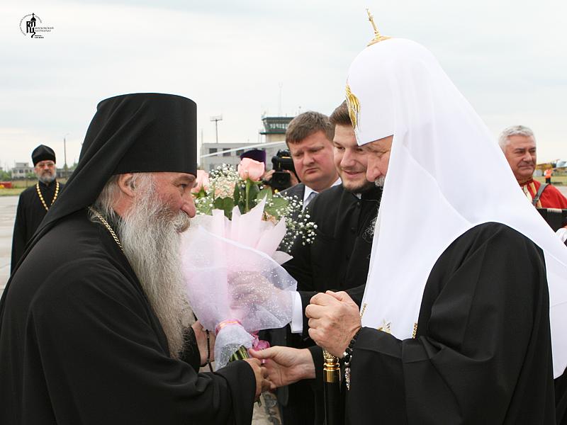 Первосвятительский визит в Брянскую епархию. Прибытие в Брянск