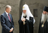 Святейший Патриарх Кирилл: Мы строим храмы, чтобы украсить наши души