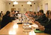 Состоялось заседание Рабочей группы по взаимодействию Русской Православной Церкви и Министерства иностранных дел России