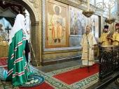Слово Святейшего Патриарха Кирилла в день памяти святителя Ионы, митрополита Московского, в Успенском соборе Московского Кремля