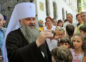 Митрополит Саранский и Мордовский Варсонофий: Архиерей должен знать каждый приход своей епархии