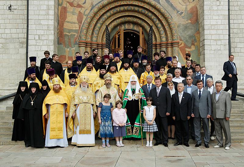 Патриаршее служение в Успенском соборе Московского Кремля в день памяти святителя Ионы, митрополита Московского