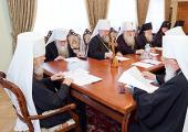 Состоялось очередное заседание Священного Синода Украинской Православной Церкви