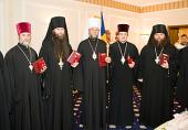 Митрополит Кишиневский Владимир и священнослужители Православной Церкви Молдовы удостоены государственных наград
