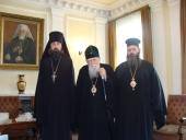 Вступил в должность новый представитель Святейшего Патриарха Московского и всея Руси при Святейшем Патриархе Болгарском