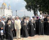 Во Владимире прошли торжества, посвященные 900-летию со дня рождения святого благоверного князя Андрея Боголюбского