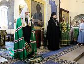 Слово Святейшего Патриарха Кирилла после Божественной литургии в Покровском соборе Марфо-Мариинской обители