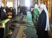 Святейший Патриарх Кирилл: Сила монашества — во внутреннем делании