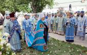 Украинская Православная Церковь молитвенно отметила 45-летие архиерейской хиротонии Блаженнейшего митрополита Владимира