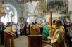 Патриарший визит на Валаам. Чин освящения верхнего храма Всехсвятского скита. Божественная литургия