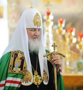Слово Святейшего Патриарха Кирилла в день памяти преподобных Сергия и Германа Валаамских в Спасо-Преображенском соборе Валаамского монастыря