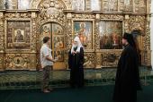 Предстоятель Русской Церкви осмотрел Патриаршие палаты Московского Кремля