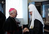 Святейший Патриарх Кирилл принял делегацию католической епархии из Италии
