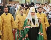 Слово Святейшего Патриарха Кирилла после Божественной литургии в Успенском соборе Кремля в день памяти святителя Филиппа, митрополита Московского