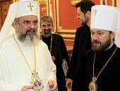 Митрополит Волоколамский Иларион встретился с Блаженнейшим Патриархом Румынским Даниилом