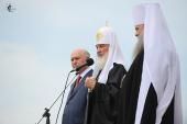 Проповедь Святейшего Патриарха Кирилла после Божественной литургии в Казанском храме города Саранска