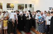 Предстоятель Русской Церкви побывал в ряде храмов Саранской епархии