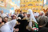 20-22 июля 2011 года состоялся визит Святейшего Патриарха Кирилла в Мордовию