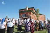 Святейший Патриарх Кирилл совершил освящение паломническо-просветительского центра в Казанской Ключевской пустыни