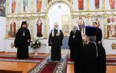 Святейший Патриарх Кирилл посетил храм в селе Ичалки, где в 1969 году участвовал в отпевании своего деда